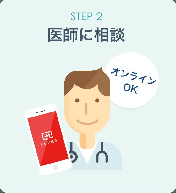 STEP2 医師に相談