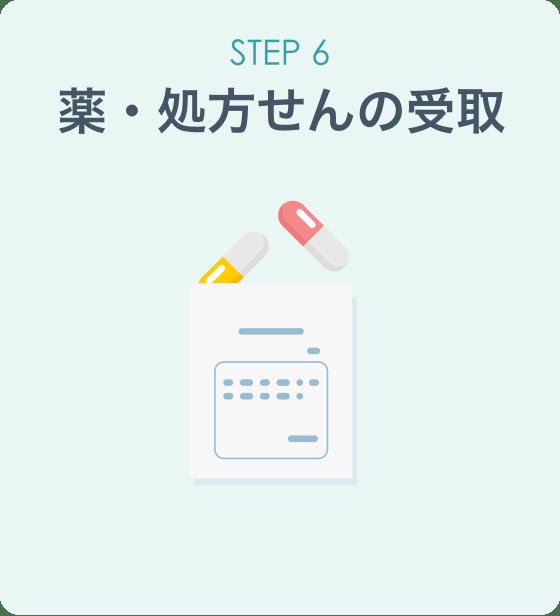 STEP6 薬・処方せんの受取